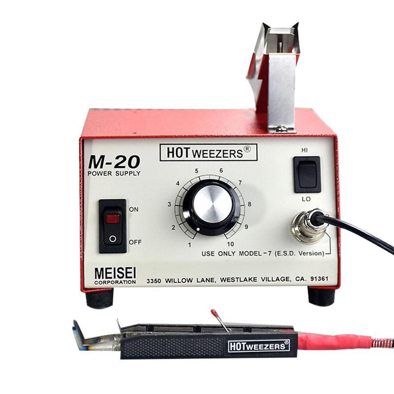 HOTWEEZERS MEISEI导线热剥器 平口型 6.3mm线径 M20-7C