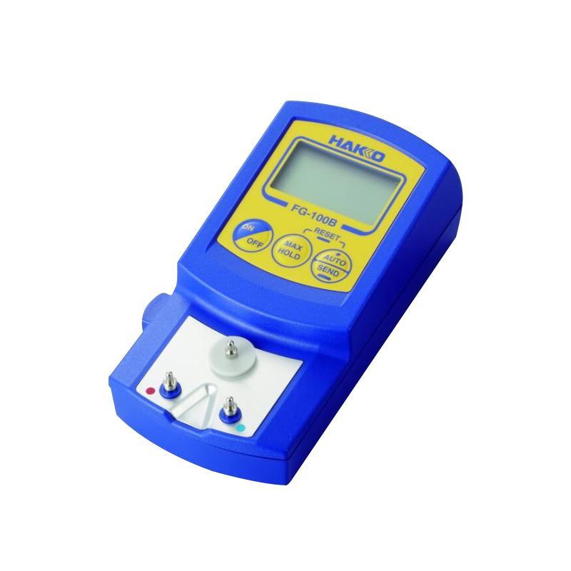白光HAKKO 烙铁头测温仪,0-700度,FG-100B,烙铁温度测试仪 测量仪 温度计 烙铁测温计 测温仪