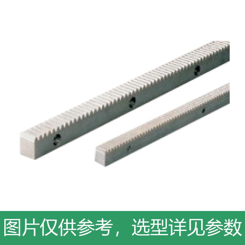 怡合达 直齿条,压力角20°,孔数固定型,模数1.0,VNU26-1.0-300-GA