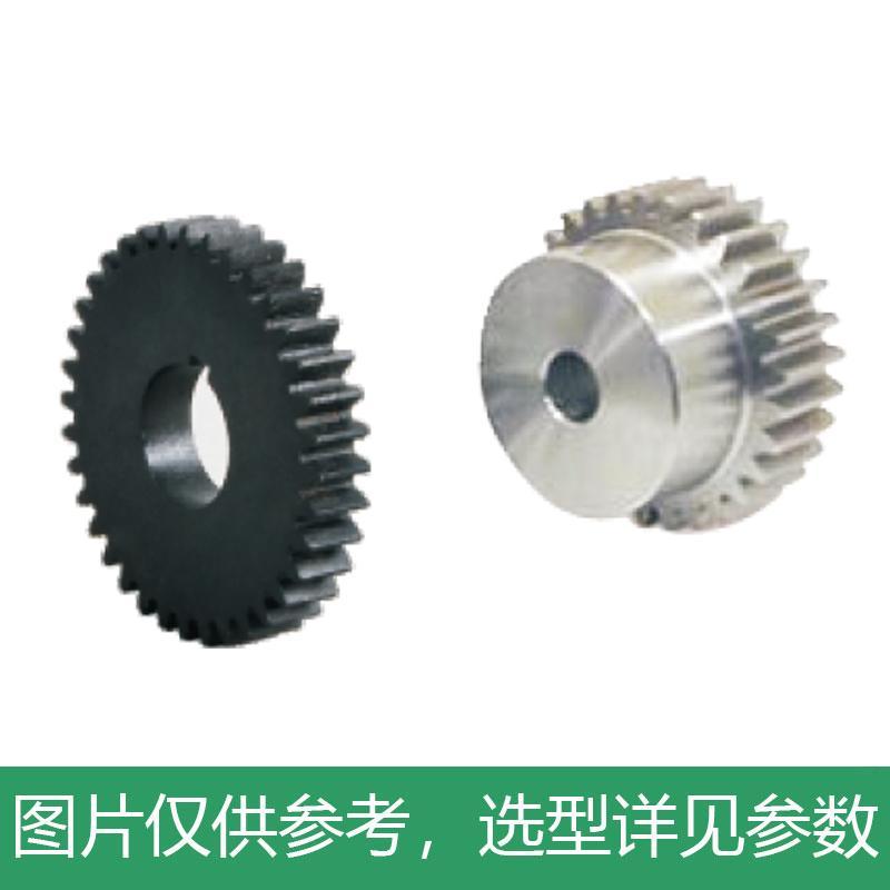 怡合达 标准直齿轮,压力角20°,模数0.5,VNC01-0.5-20-B3-A-P3