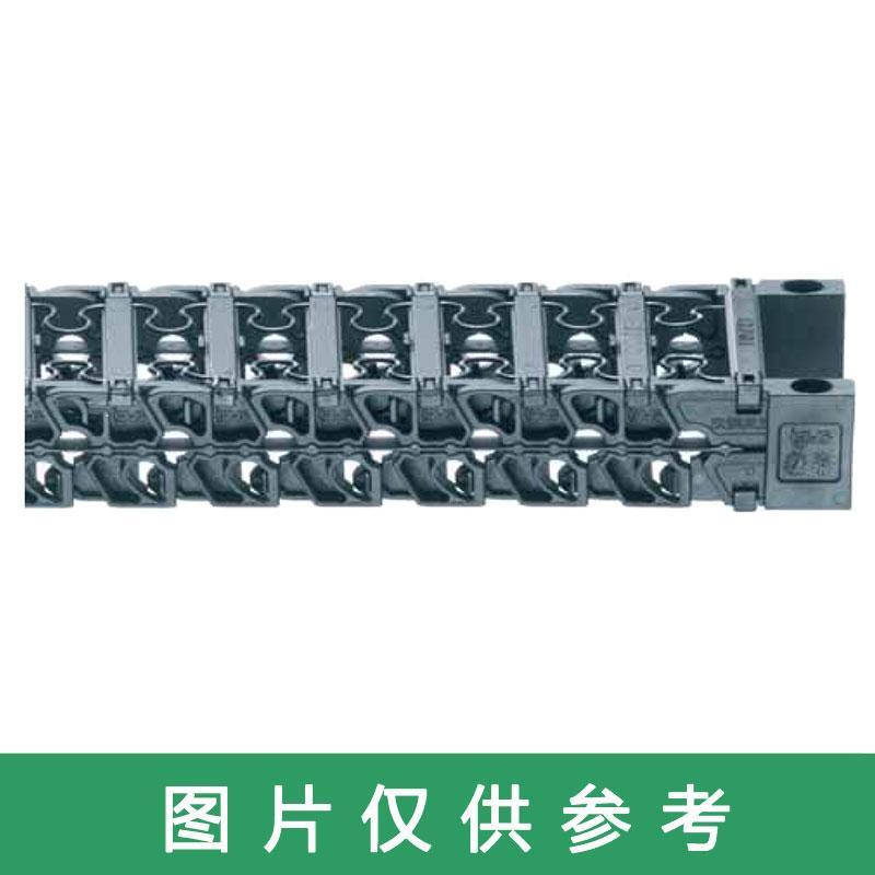易格斯igus 拖链,E3|E3.15系列,内宽40,弯曲半径38,长度317,E3.15.040.038.0