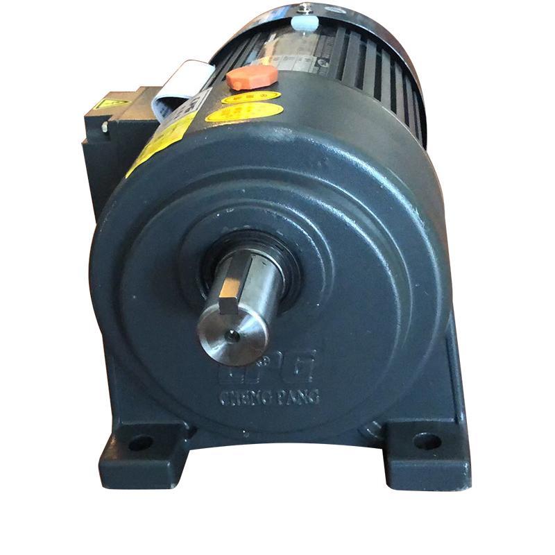 晟邦 齿轮减速三相异步电机带刹车,CH1500-100SB,1.5Kw,50Hz,IP44,F,1430r/min,220V/380V