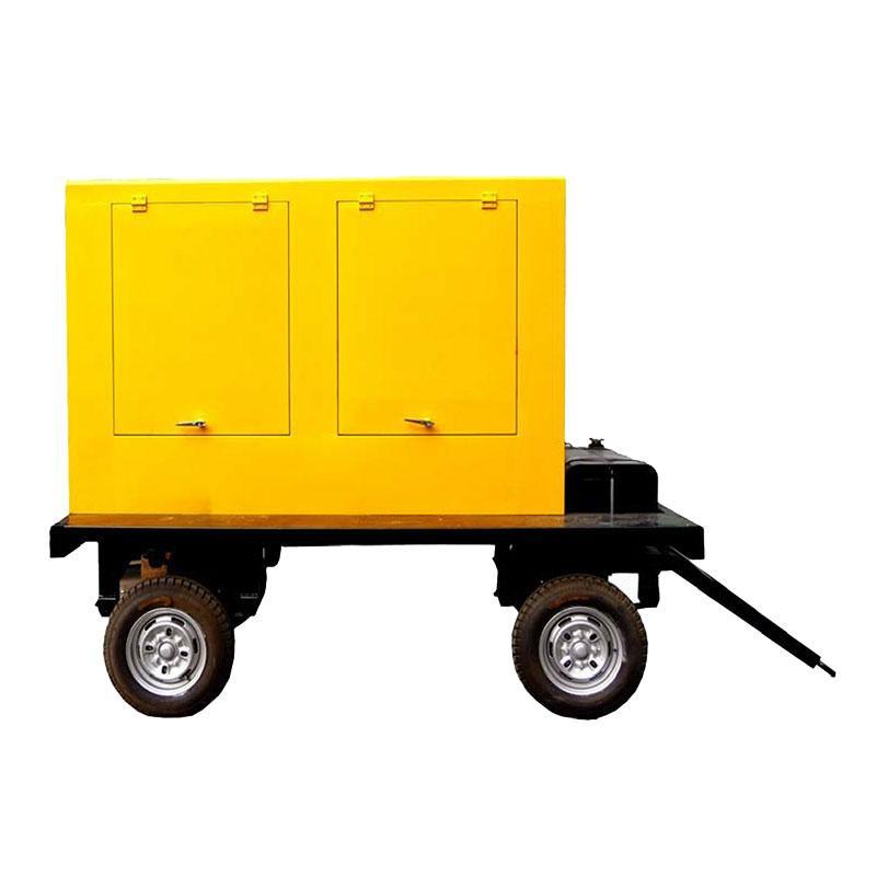 潍柴WEICHAI 50KW柴油发电机组(带燃油位显示及报警,优化结构,手启动),WPG68.5/T1