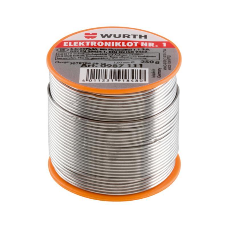 WURTH伍尔特1mm焊锡丝 250g 0987111