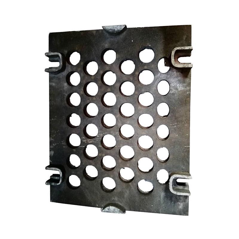 铸钢筛板755*608*20,ϕ65开孔,适用于2YAQH3073大型强迫同步振动筛