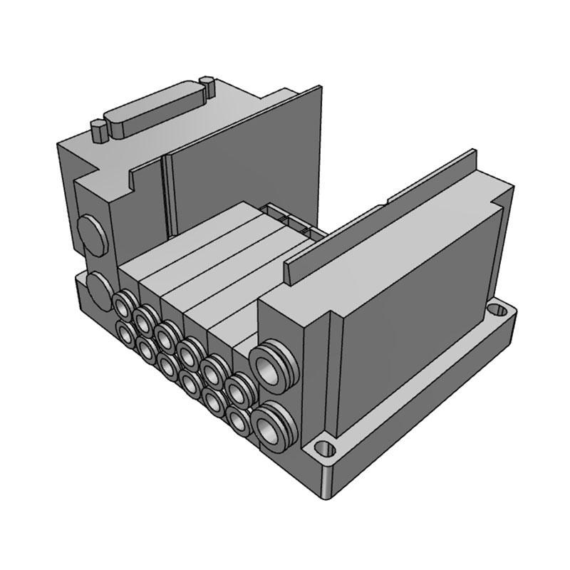 SMC 插件连接底板,SS5Y3-10F1-06U-C6
