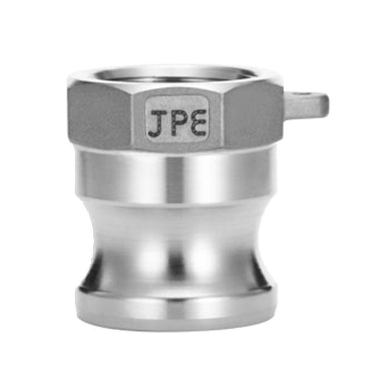 JPE 双扣式内牙插头,不锈钢,3,AS6-A300-R