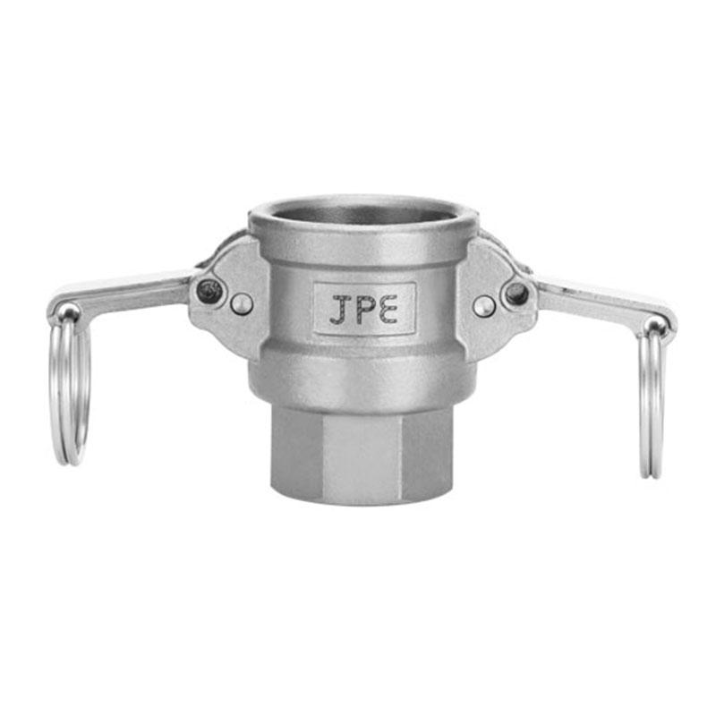 JPE 双扣式内牙插座,不锈钢,3,AS6-D300-R