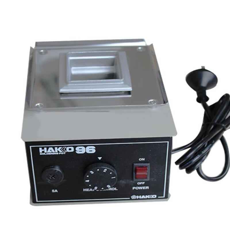 白光HAKKO 熔锡炉 200W 96 锡炉 可调温焊锡炉 锡锅 焊锡锅 温控锡炉