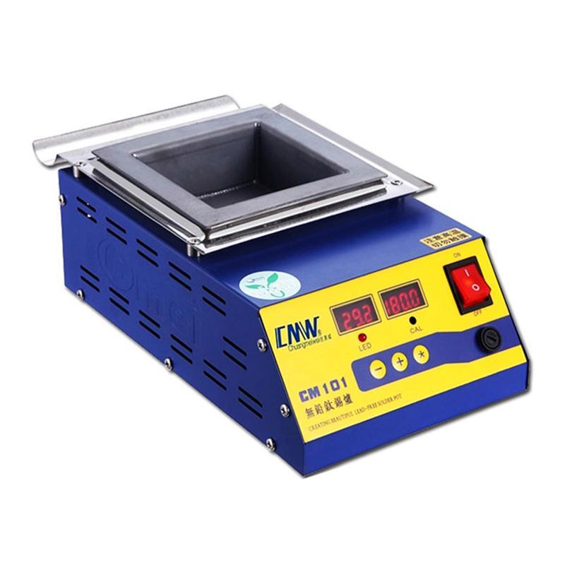 创美威 调温锡锅/方形无铅锡炉 0-600℃ 方槽100*100*45mm CM-101