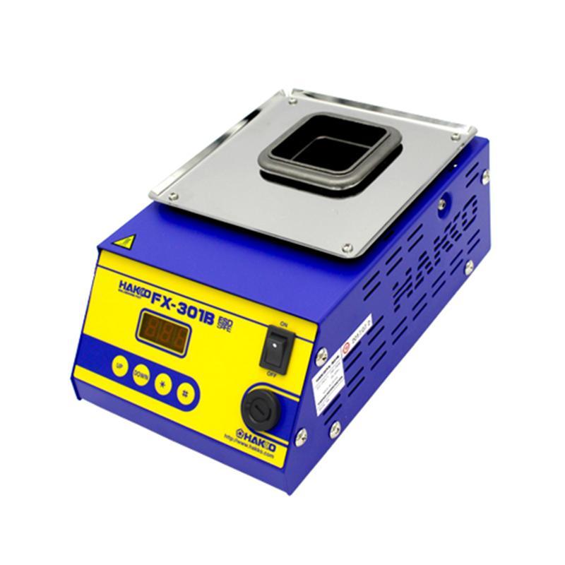 白光HAKKO 数显式温控调温熔锡炉 200W FX-301B 锡炉 锡锅 焊锡锅 温控锡炉