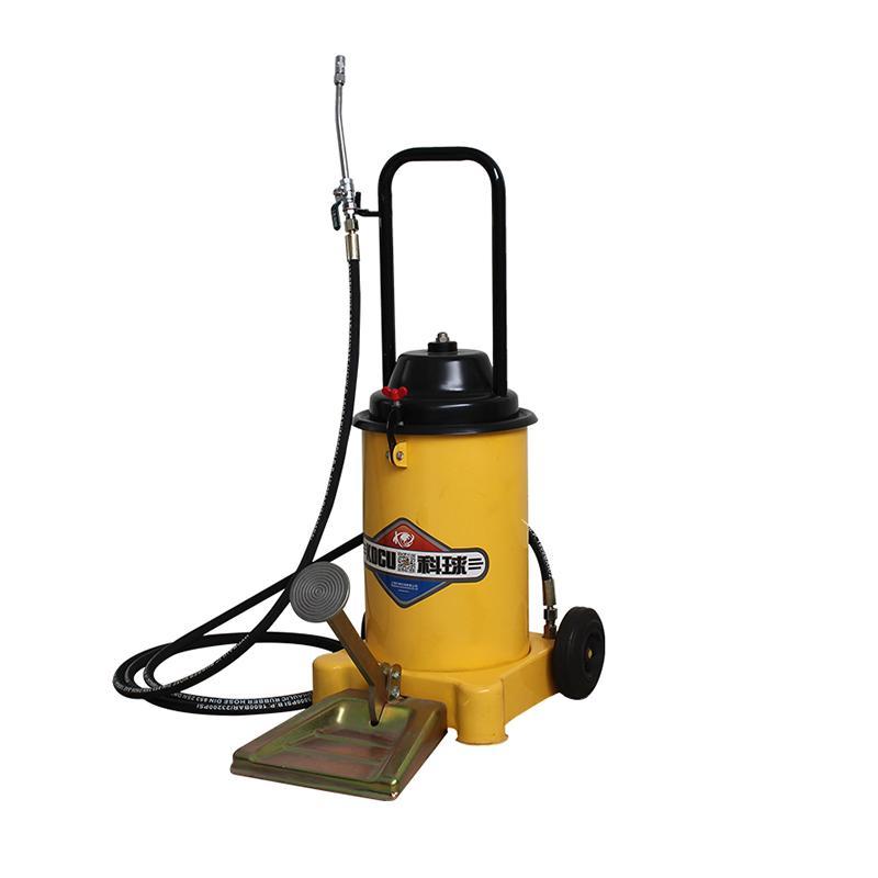 科球 脚踏式黄油注油机标配装 12L 油管2.5米 油压20-25Mpa 含阀门枪和油管 GZ-6J