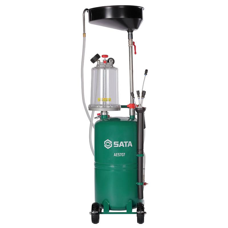 世达SATA 废油抽接油机 储油桶70L带量杯  AE5707 整机质保一年不含安装