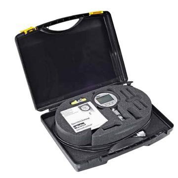 派克Parker 数显压力表套装,精度0.5%,压力100bar,带设备箱,过度接头,测压软管,SCJN-KIT-100