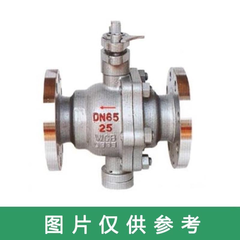 碳钢法兰硬密封球阀 Q47H-16C,DN300