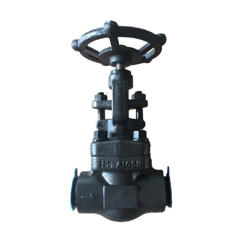 远大阀门 手动焊接截止阀J61H-40C,DN50,锻钢A105