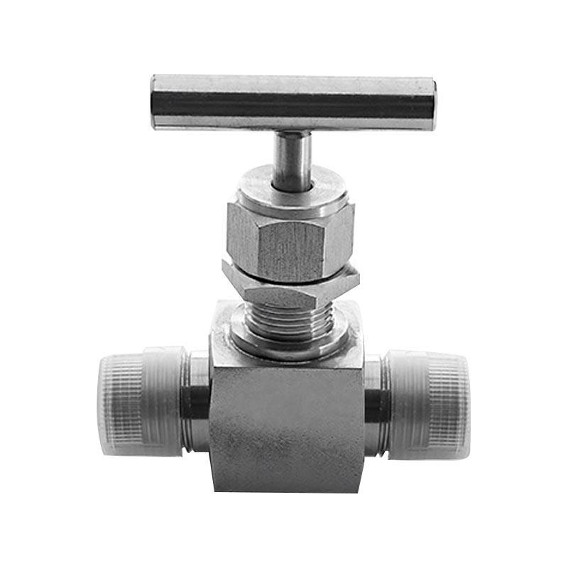 洛克 6000psi高压外螺纹直通针阀,1/4NPT,SS-FN-MN4,耐温260度