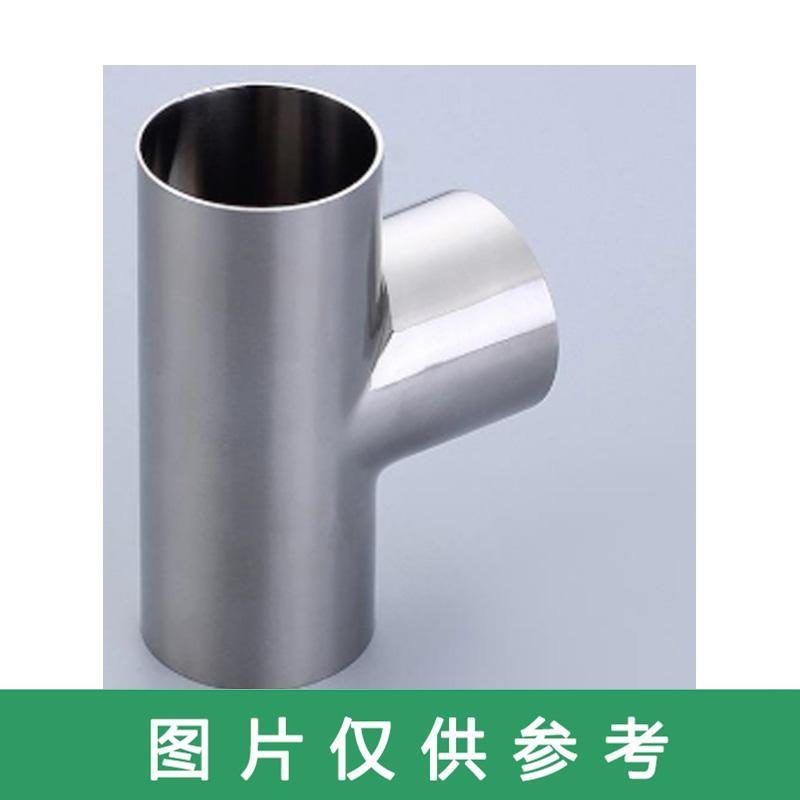 锐阁 304L变径对焊三通 GB/T12459 T(S)Φ133*108*4