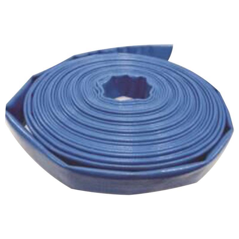 新明辉推荐 3寸PVC蓝色水带,PUB3.0-20,内径:76.2mm,20米/卷