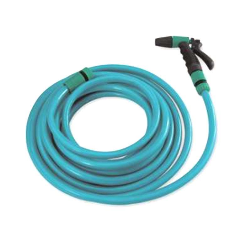 象头 PVC自来水洗车管套装,20m,适用压力10bar,绿色(含枪头)