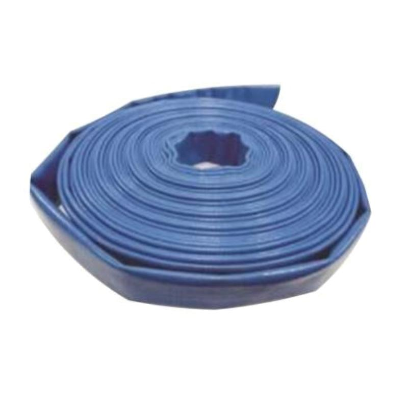 新明辉推荐 2_1/2寸PVC蓝色水带,PUB2.5-20,内径:63.5mm,60米/卷