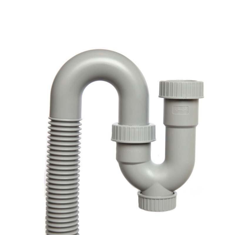 九牧 防臭面盆下水软管,面盆下水管,HDPE环保材质,91096-00-1