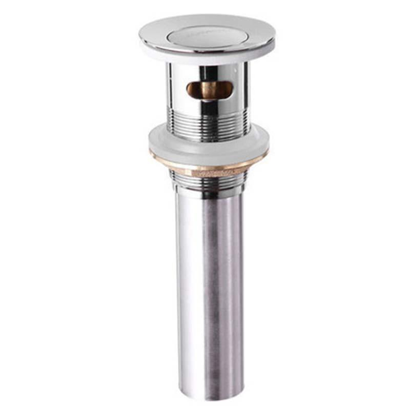 九牧 弹跳式面盆下水器,外形尺寸:Ø61*180MM,管径:Ø32,管总长度:181,91106-1B-1