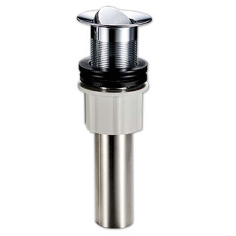 九牧 优质304不锈钢快速排水面盆下水器,翻版/弹力设计,φ61*180mm,91113-1B-1
