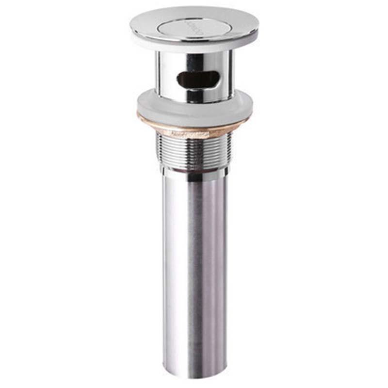 九牧 面盆下水器电镀卫浴配件翻板式下水器,外形尺寸Ø61*180MM,管径Ø32,91105-1B-1