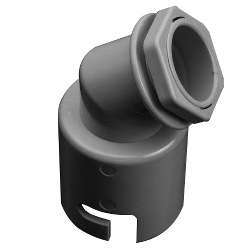 九牧 洗衣机地漏两通接头,规格:86*86,安装螺母:M32*1.5,91109-00-1