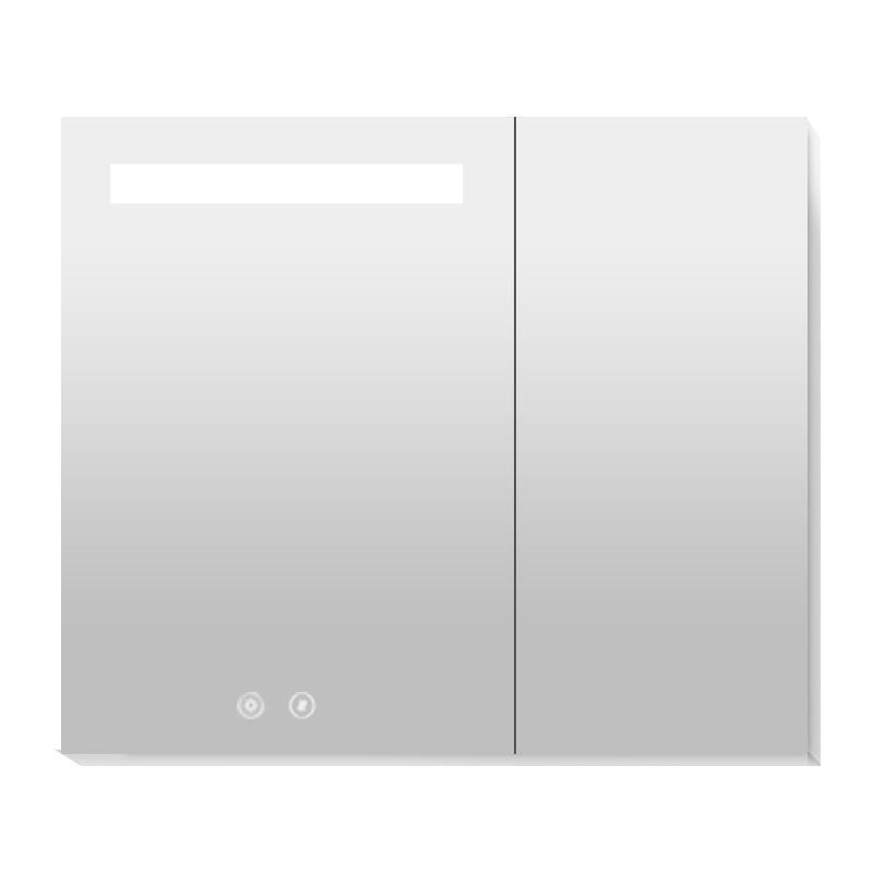 九牧 带灯带除雾铝合金镜柜750mm,AC2253-728H-4