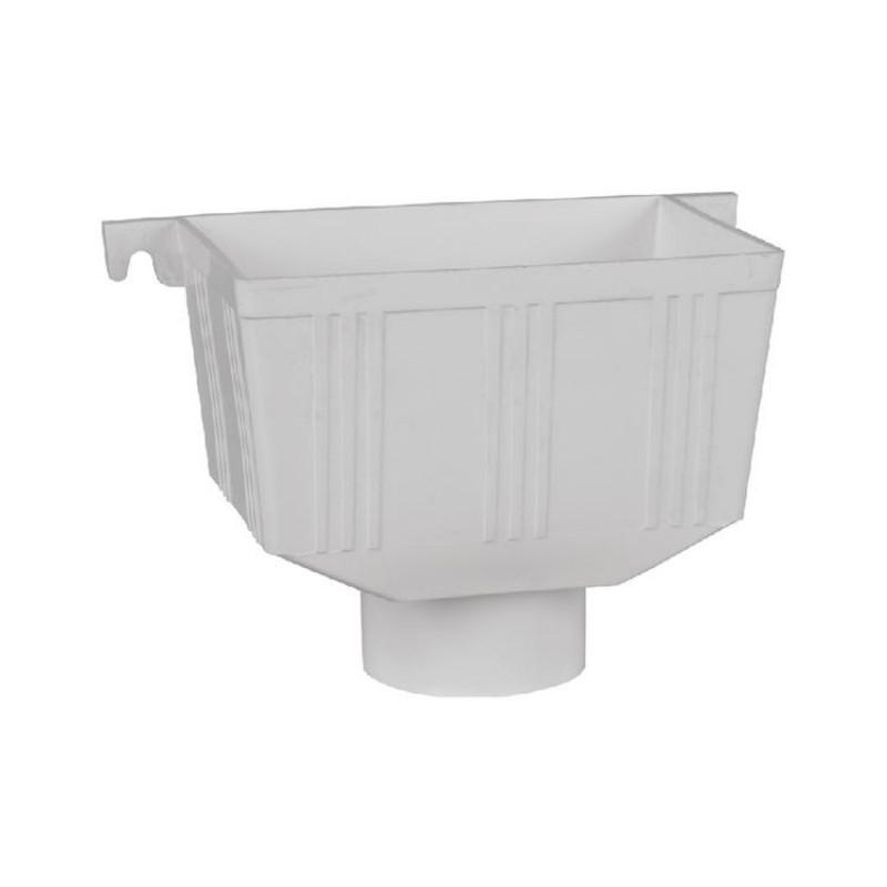 联塑 方型雨水斗,PVC-U排水配件白色DN160