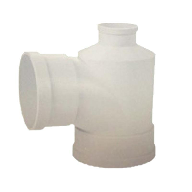 联塑 PVC异径三通,110*110*75