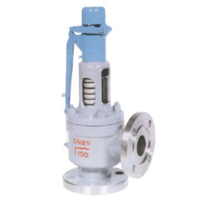 克罗斯/CLOS A48Y-100I,DN80 弹簧全启式安全阀,带散热器,阀体材质15CrMo,介质:蒸汽,温度:500℃