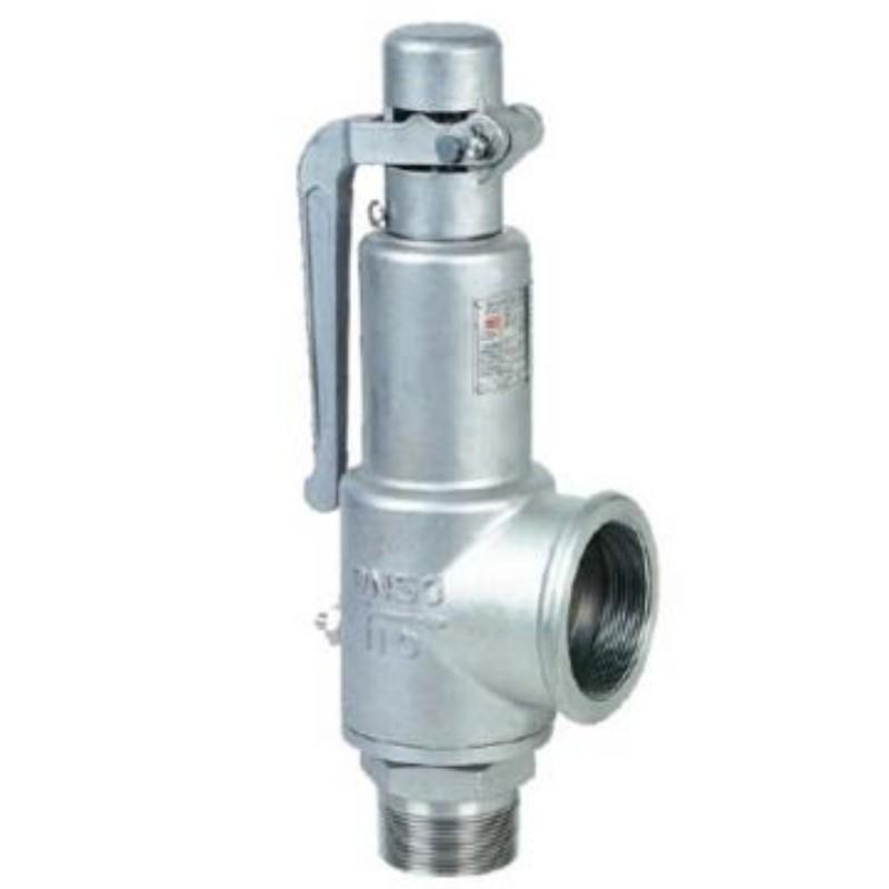 永一 弹簧式外螺纹安全阀 (铸铁)A28H-10/16,DN50(下单请注明介质温度及安全阀整定压力)