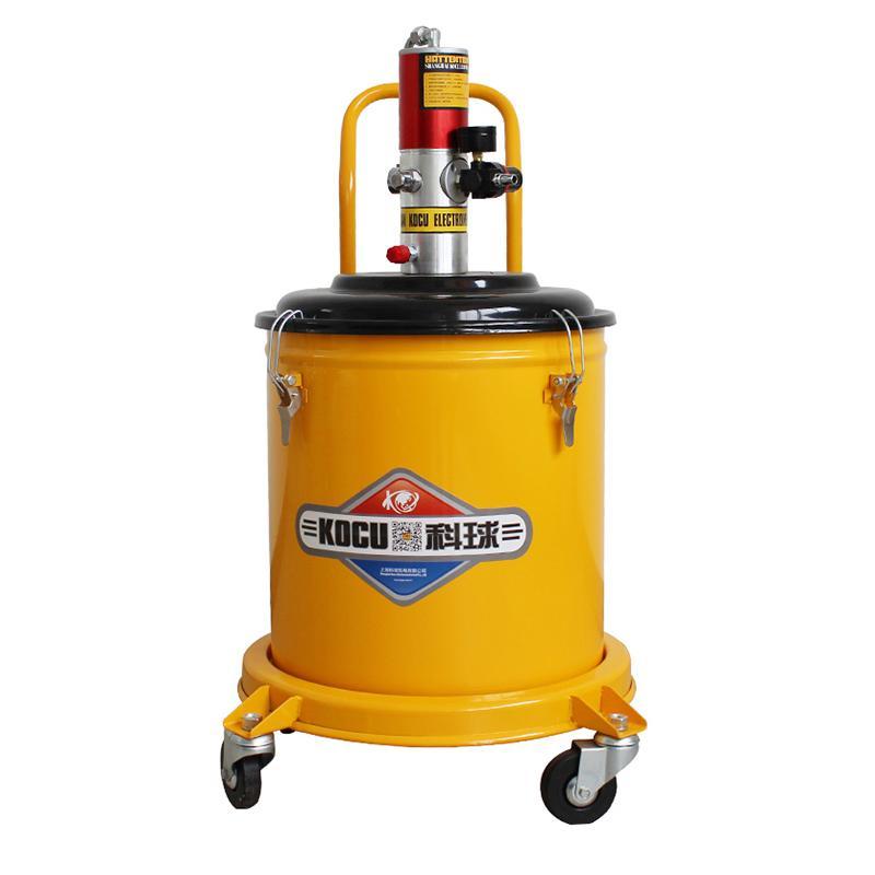 科球 气动高压注油器,GZ-A9,压力比50:1,桶容积20L