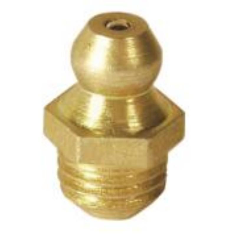 MATO 3281106 塔形直油嘴,螺纹M10x1,优质钢镀锌