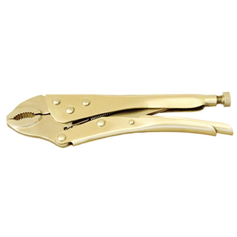 桥防 防爆大力钳 铝青铜 225mm 257D-1002AL