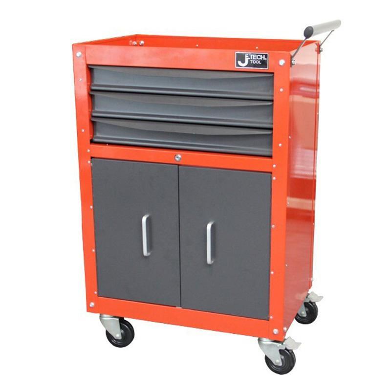 捷科JETECH 121+37件工具车套装,套RC-3D工具车,060888,RC-121+37S(3D款)