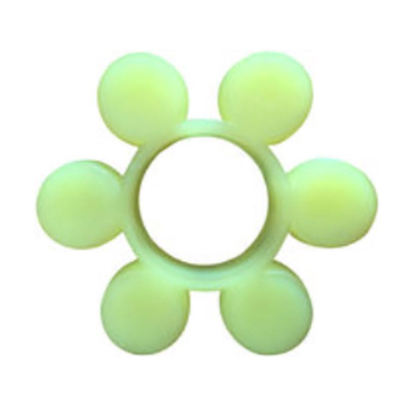 新明辉推荐 六瓣圆形花瓣梅花垫,100*42*20,材质聚氨酯