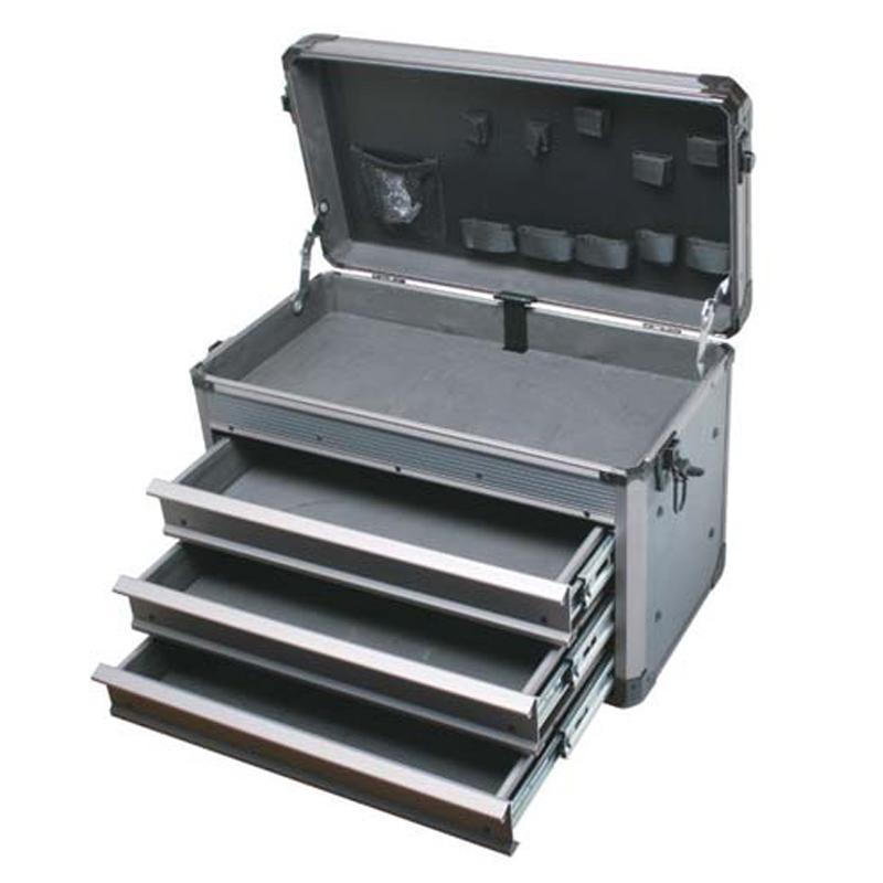 宝工 深灰重型铝质工具箱(三抽屉) TC-755