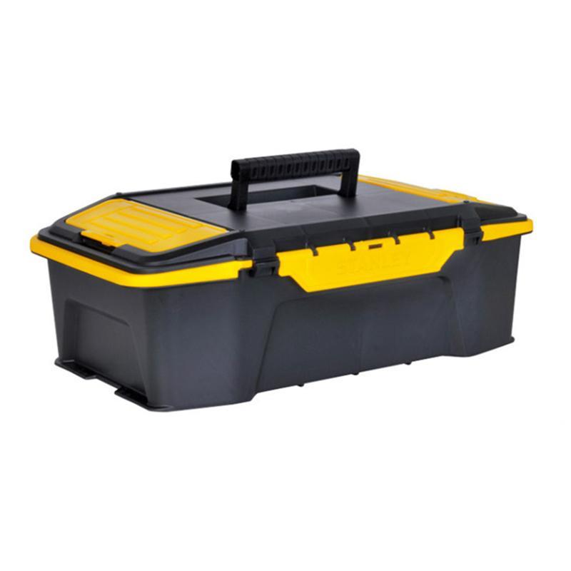 史丹利 双向开塑料工具箱,20,STST19950-8-23,工具箱 收纳工具盒 车载工具箱 多功能收纳箱