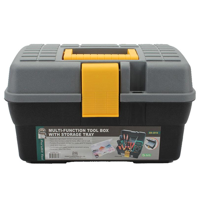宝工 内盒式工具箱,PP材质,SB-2918