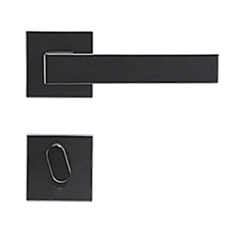 固特 分体门锁,7211, 磁吸锁体,中心距离72,黑色