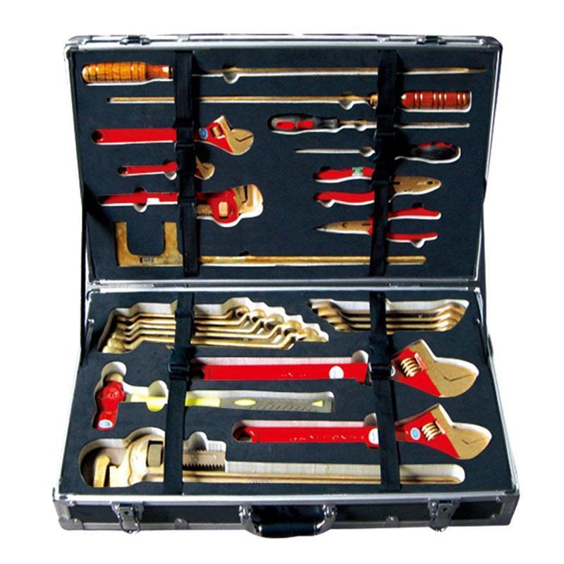 中泊 防爆工具套装,铝青铜,26件套,2J-26-AL