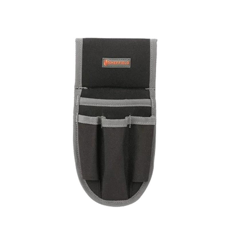 钢盾SHEFFIELD 4袋式工具腰包,S023015,不含腰带