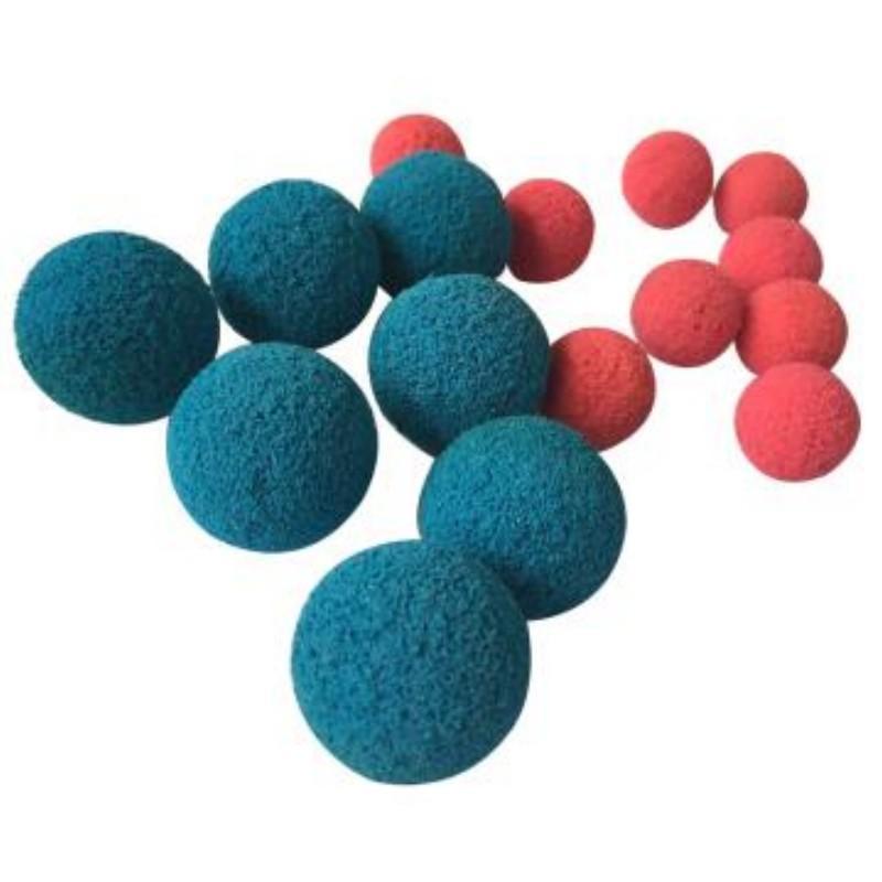 宇和/YUHE 高品质清洗装置用剥皮胶球,16号(mm)