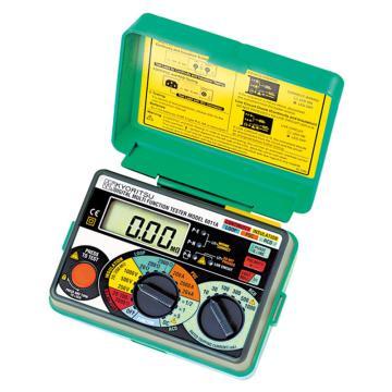 克列茨/KYORITSU 多功能测试仪,导通/绝缘/回路电阻/RCD/短路保护测试,6011A