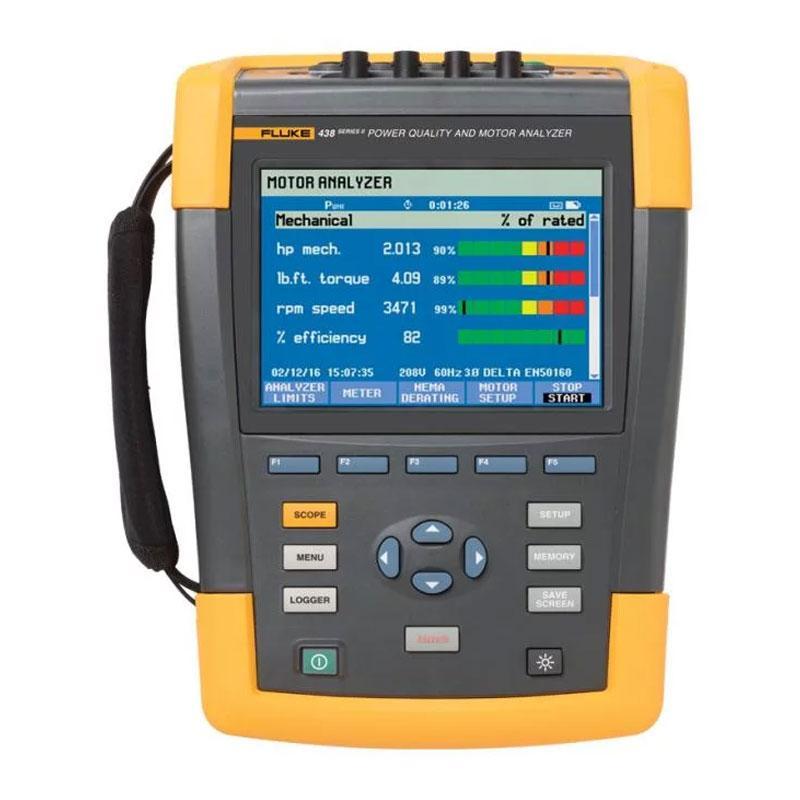 福禄克/FLUKE 国际版电机效率和电气性能综合测试仪,FLUKE-438-II/INTL