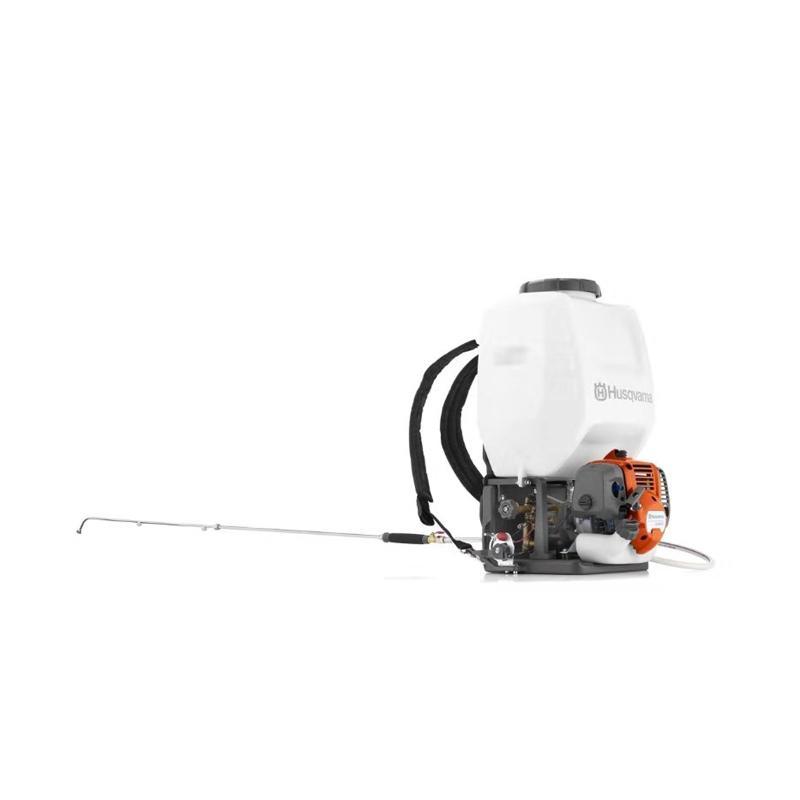 富世华小松 背负式汽油动力喷雾机 15L 0.8KW 323S15 967078301 打药机 汽油喷药机果树消毒机